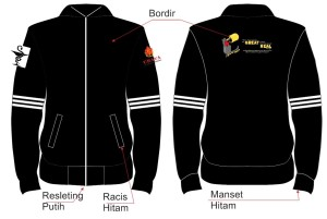 Jaket Bordir Ubaya Great Real