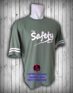 Kaos Oblong Sablon Safety