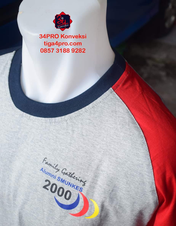Kaos Reuni Smunkes Jombang Bahan Cotton Combed 24s ,