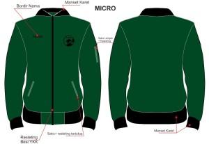 Jaket Bordir Micro PB
