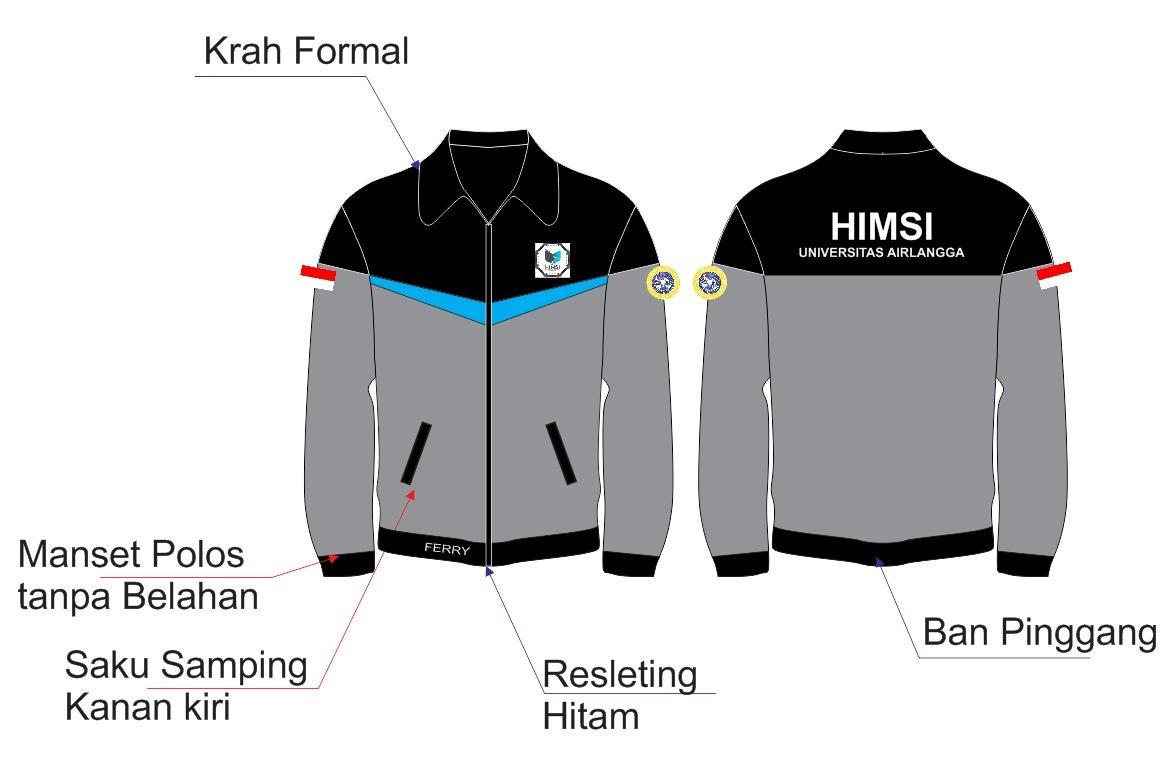 44+ Desain Jaket Sport Polos HD Terbaik