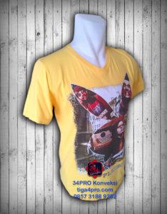 60 Kaos Oblong Sablon CMYK